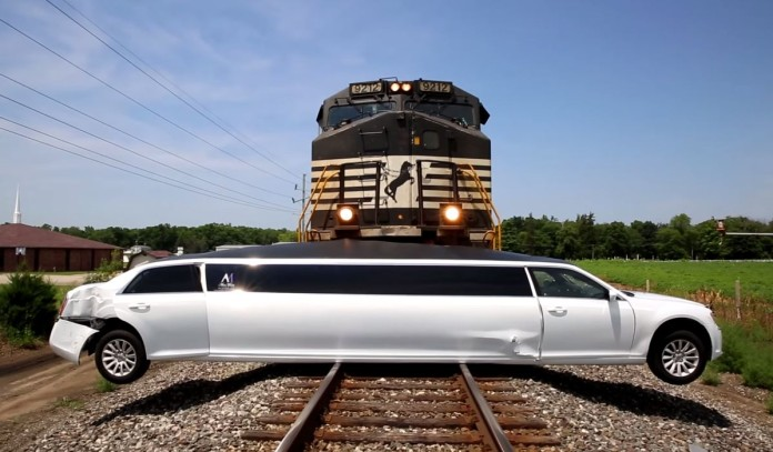 Train Vs Limo