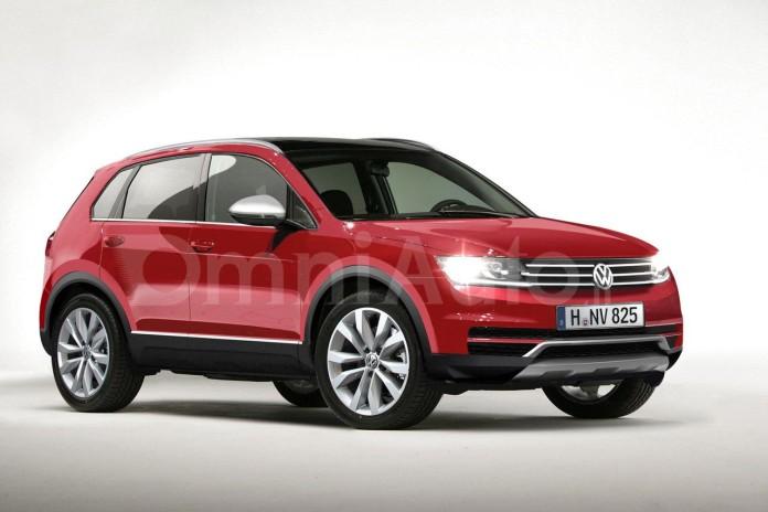 Volkswagen Tiguan 2016 renderings (1)