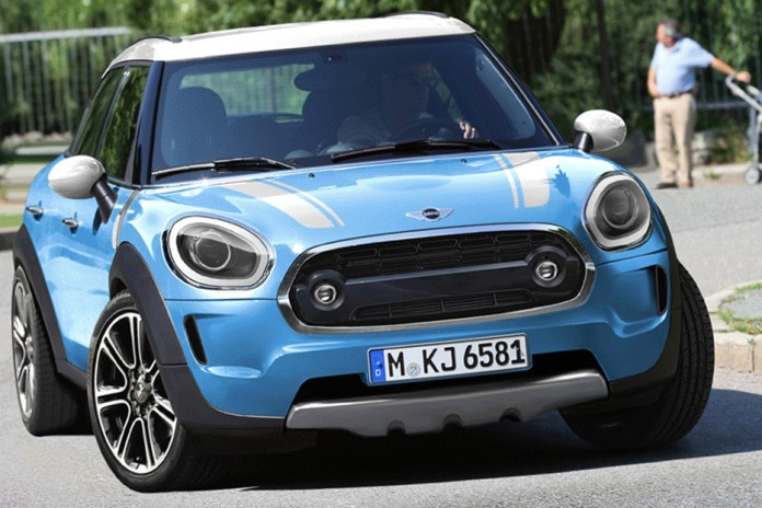 mini countryman rendering