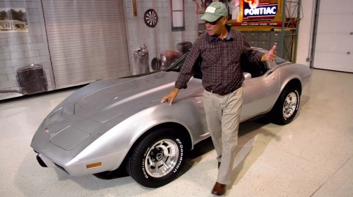Detroit native George Talley's 1979 Corvette was stolen 33 yea