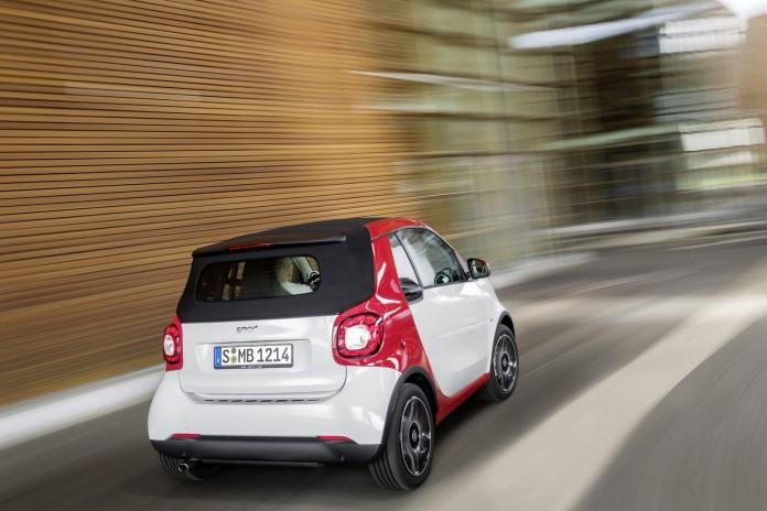 2016 Smart Fortwo Cabrio 2
