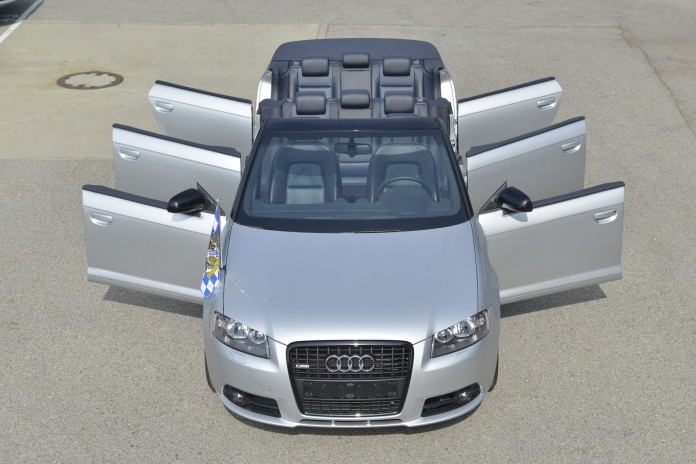 Audi A3 Cabrio with six doors (4)