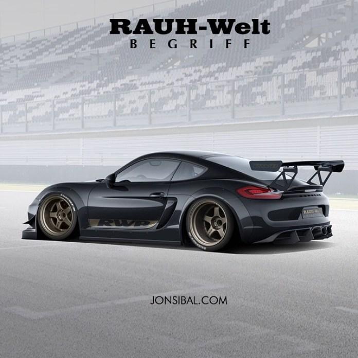Cayman GT4 rwb
