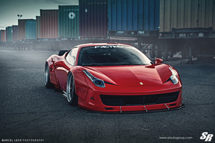Ferrari 458 Italia Liberty Walk and Pur Wheels (4)