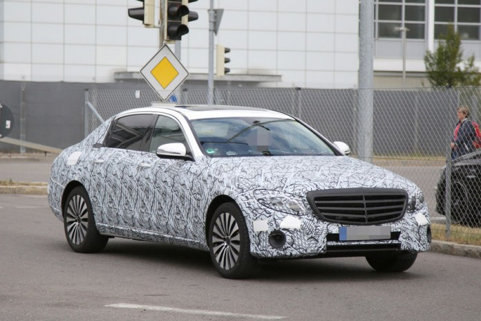 Spy Photos Mercedes-Maybach E-Class (2)