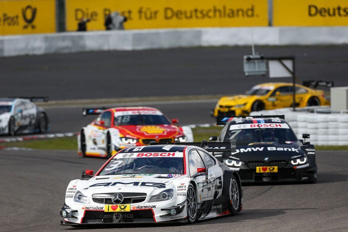 Motorsports: DTM race Nuerburgring, #3 Paul Di Resta (GB, Mercedes-AMG DTM Team HWA, Mercedes-AMG C 63 DTM)