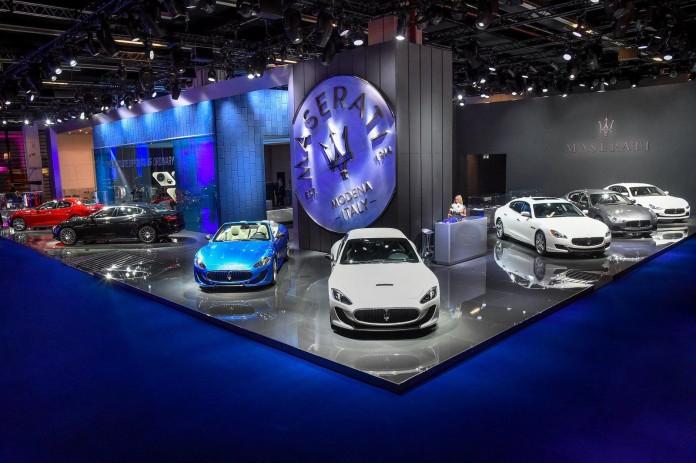 2016 Maserati Ghibli & Quattroport live in Frankfurt 5