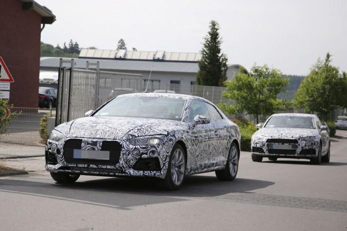 Audi A5 2016 Spy Photos (11)