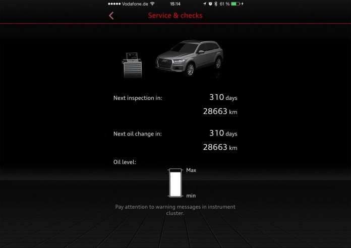 Audi MMI connect smartphone app (2)