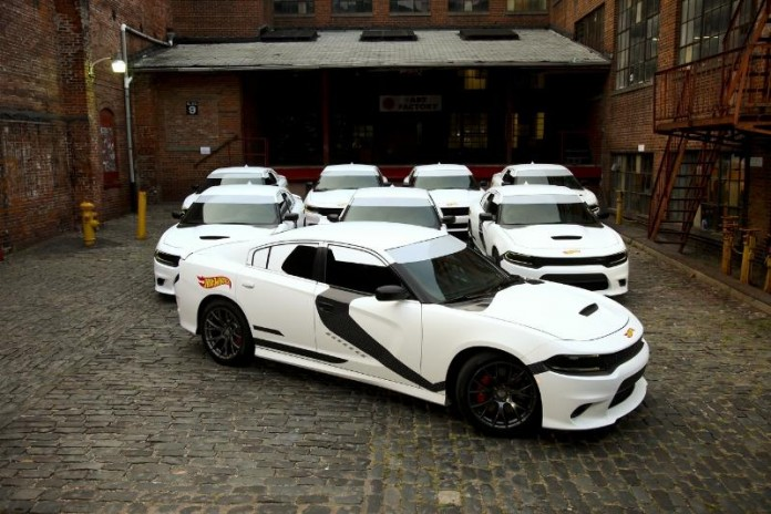 Hot Wheels Star Wars First Order Stormtrooper inspired Dodge Chargers