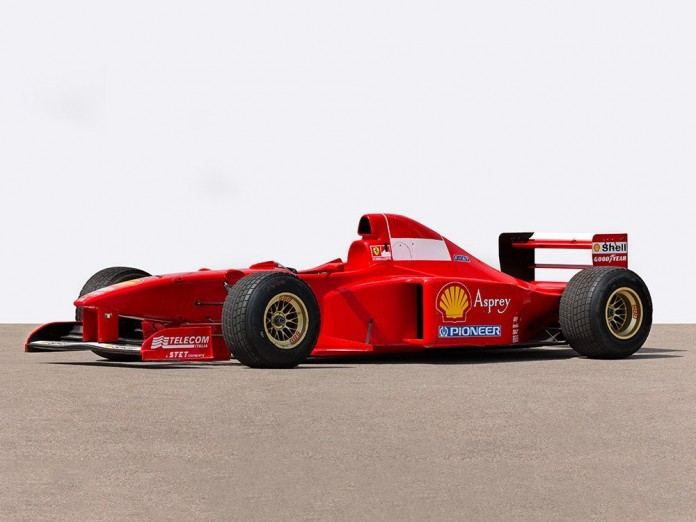 Michael Schumacher Ferrari Formula 1 for Auction (1)