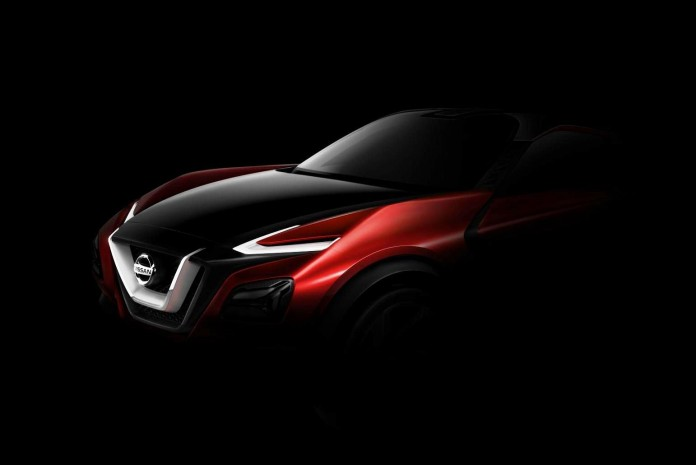 Nissan crossover concept teaser