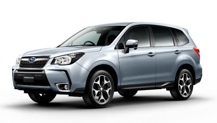 Subaru Forester 2016 leaked images (1)