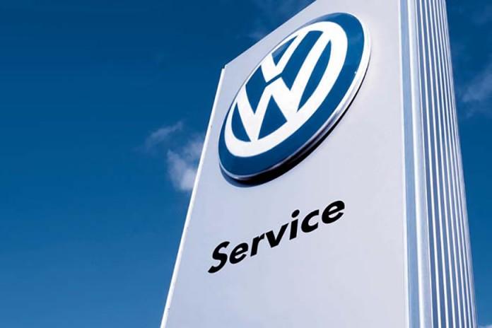 vw volkswagen logo service