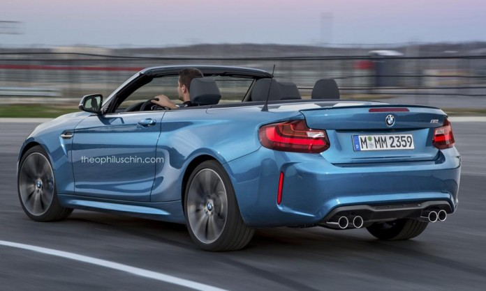 BMW M2 Convertible rendering (1)