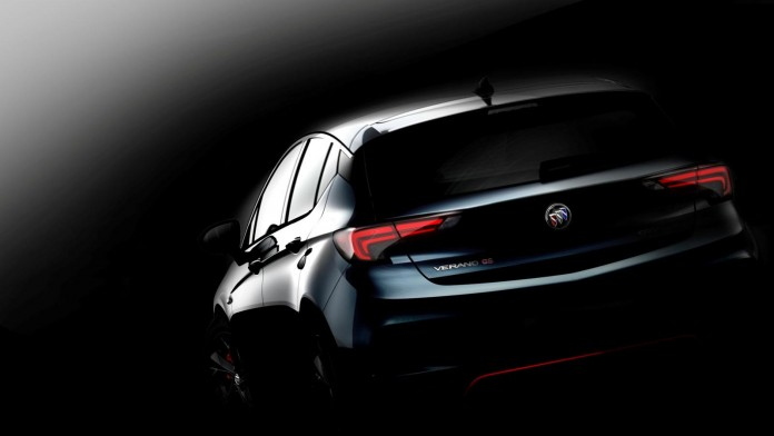 Buick Verano GS teaser image