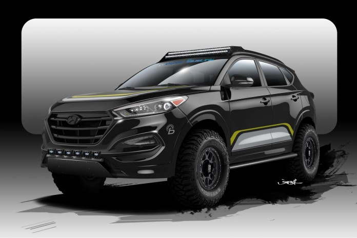 Hyundai Tucson by Rockstar Performance Garage