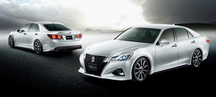 Toyota Crown facelift with TRD accessories 23