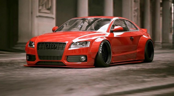 Audi S5 by Liberty Walk (1)