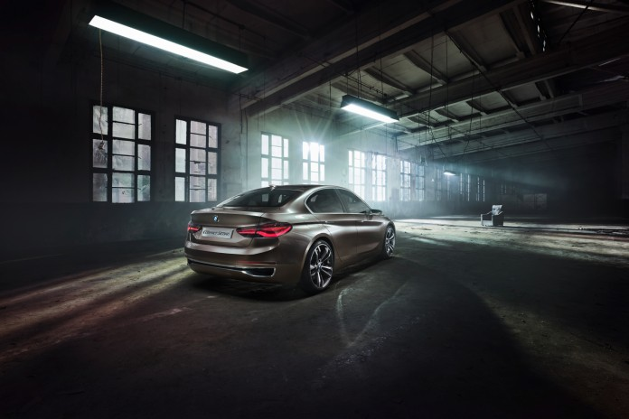 BMW Compact Sedan Concept 3