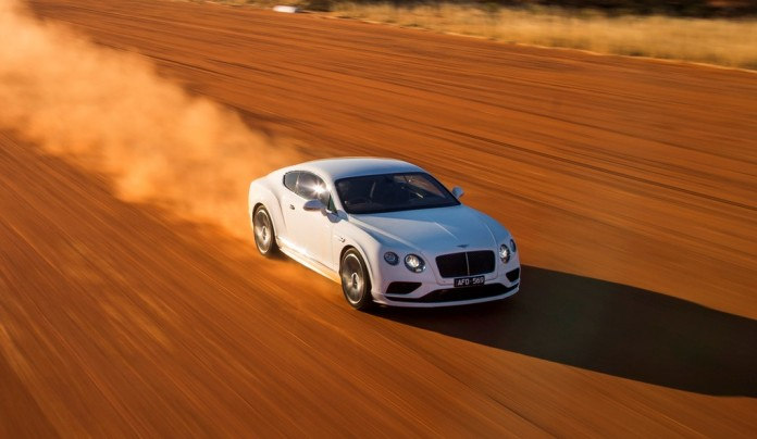 Bentley Continental GT Speed on Stuart Highway (6)