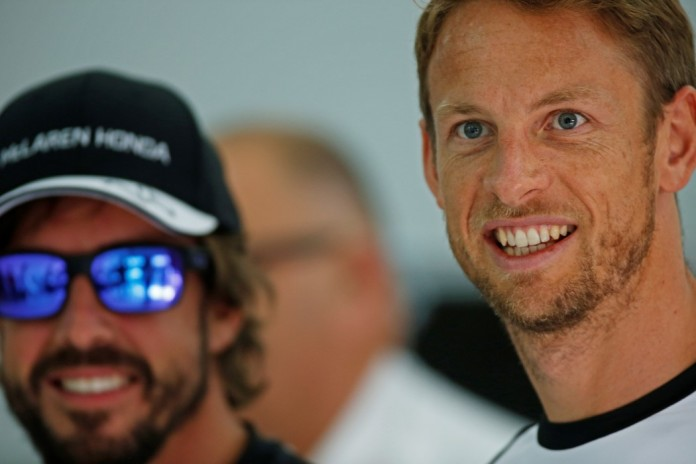 Jenson Button and Fernando Alonso.