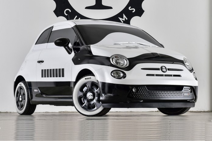 Fiat 500e stormtrooper by Garage Italia Customs (1)