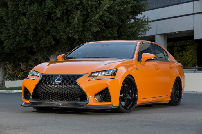 Lexus GS F and RC F for SEMA (1)