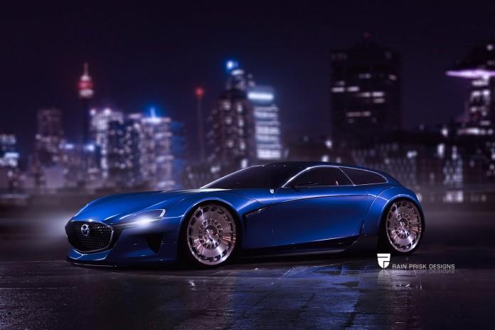 Mazda RX-Vision concept shooting brake