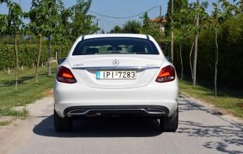 Mercedes-Benz C-Class C200 BlueTEC Test Drive (13)