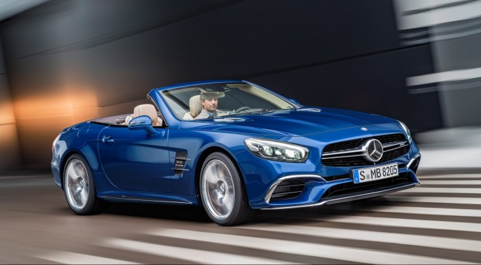 Mercedes-Benz SL facelift 2016 (5)