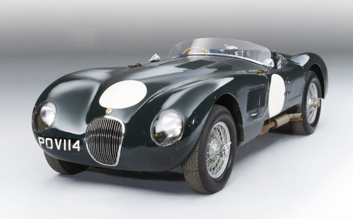 Unrestored_Jaguar_C-Type_Raced_by_Stirling_Moss_01