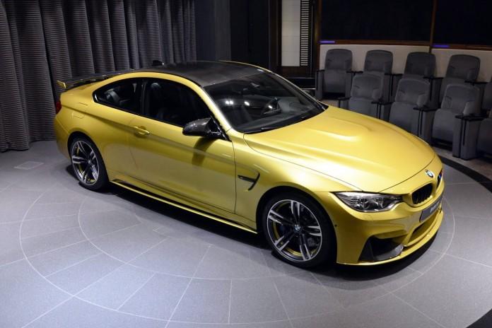 BMW M4 Austin Yellow (2)