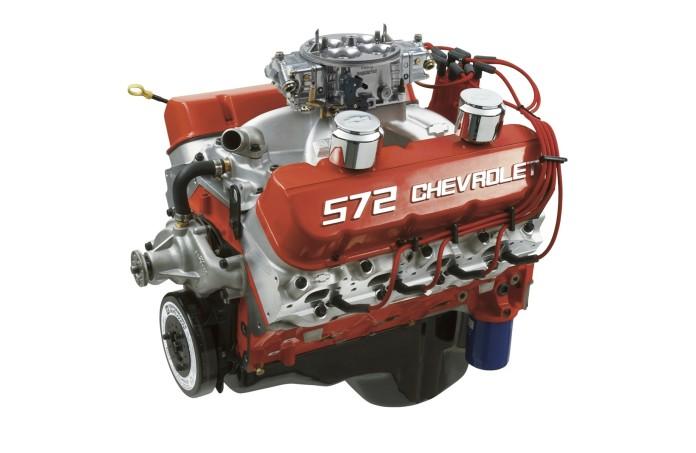 Chevrolet ZZ572 crate engine