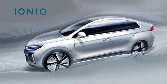 Hyundai Ioniq teaser 1