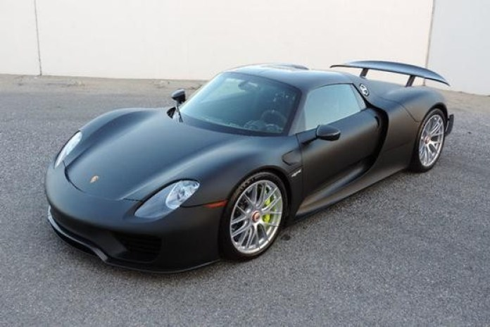 Porsche 918 Spyder Without Paint (1)
