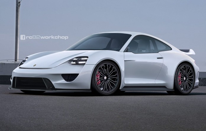porsche-911-with-mission-e-front-fascia