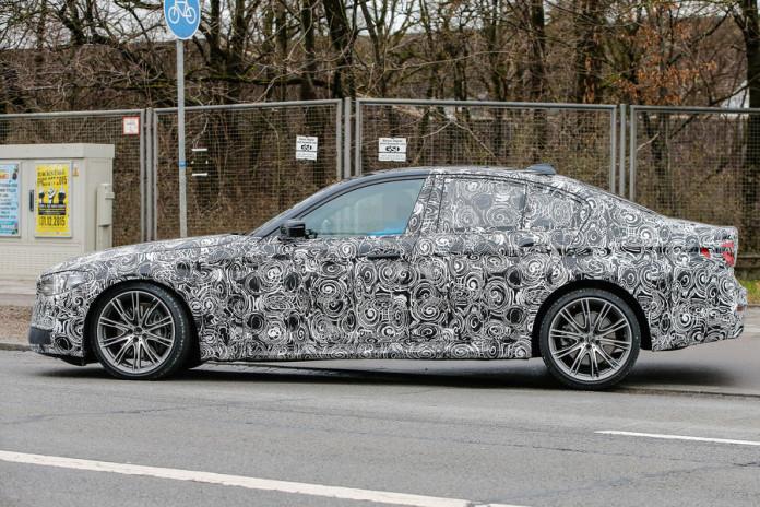 BMW 5-Series 2017 spy photos (8)