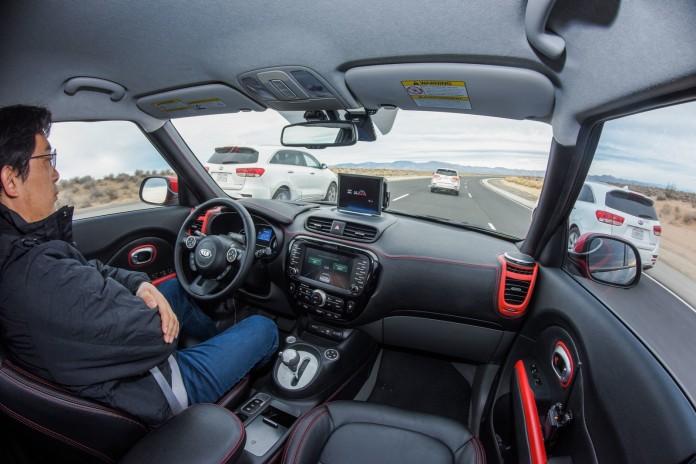 Kia Autonomous Soul EV and I-Cockpit (4)