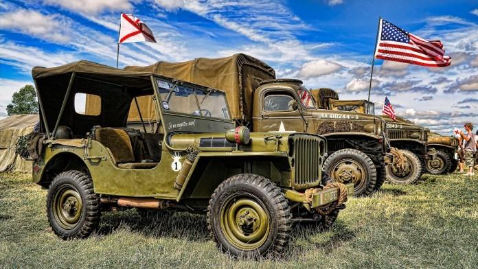 jeep army