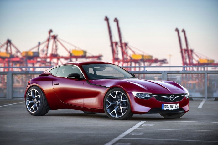 opel gt concept production