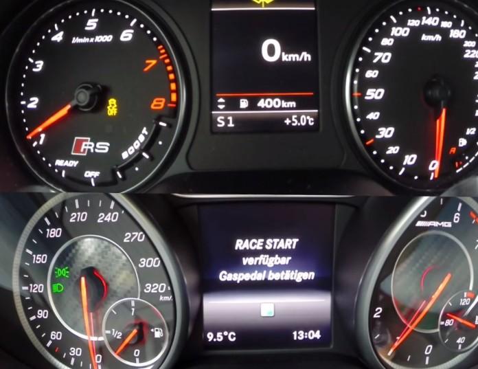 Audi RS 3 Vs Mercedes A 45 AMG