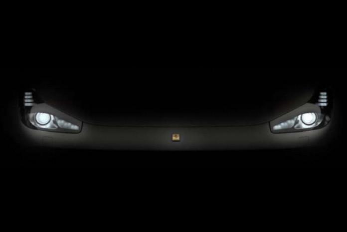 Ferrari FF facelift teaser