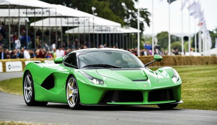 Goodwood-festival-of-speed Jay Kay laferrari
