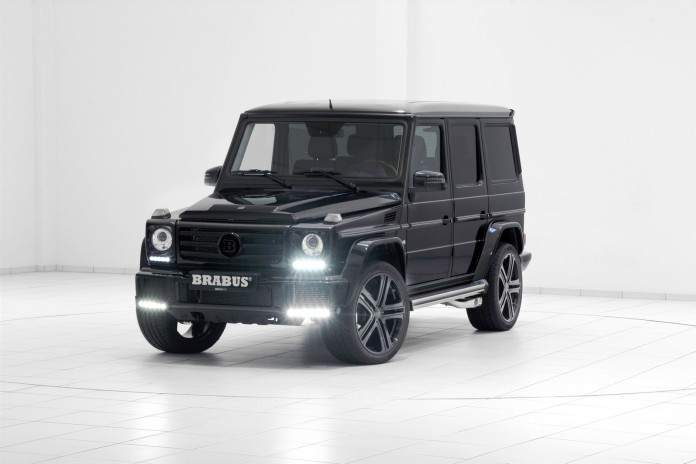 Mercedes-Benz G500 V8 Turbo by Brabus (1)