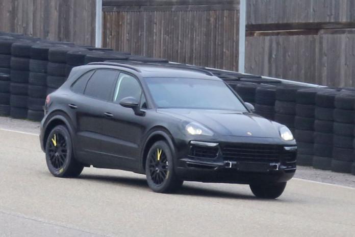 Porsche Cayenne 2018 spy photos (6)
