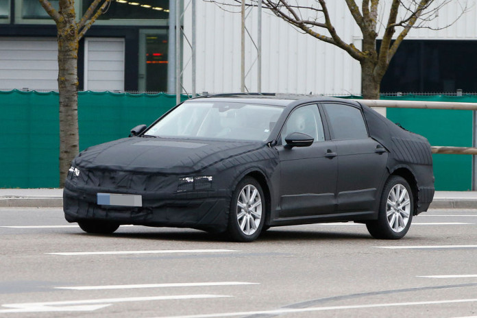 Volkswagen C Coupe GTE production spy photos (1)