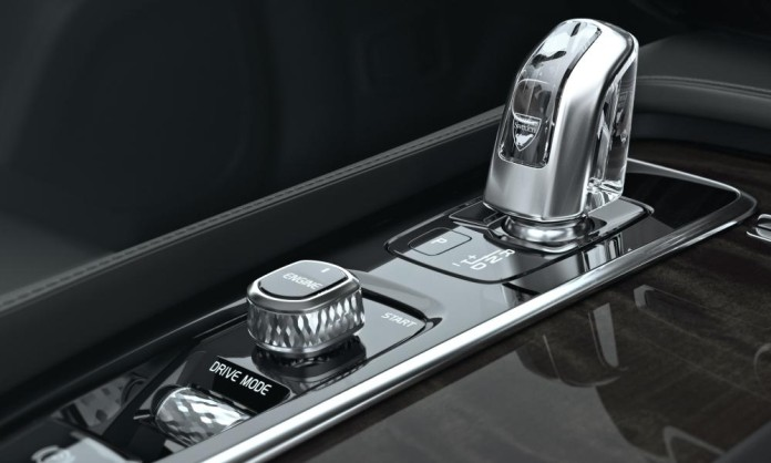 Volvo XC90 Orrefors shifter 2