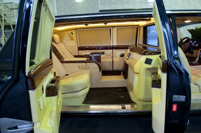 ZiL 4112R Poutin prototype limo for sale (14)