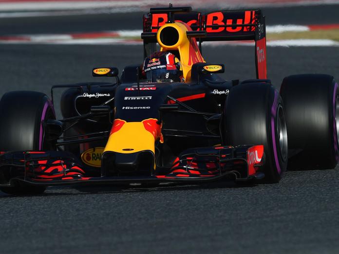 Daniil Kvyat (RUS) Red Bull Racing RB12 at Formula One Testing, Day Four, Barcelona, Spain, Thursday 25 February 2016.